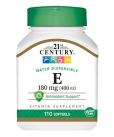 E 180 mg (400 IU)