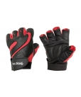 Перчатки черно-красные